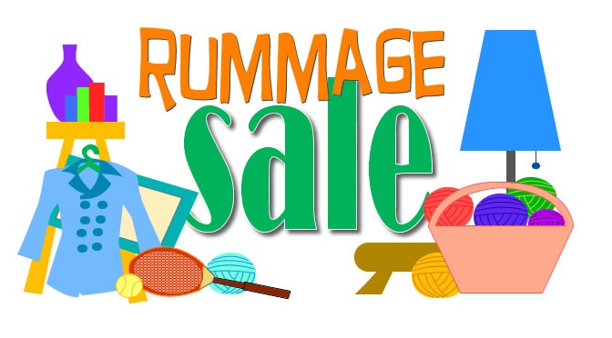 Semi Annual Sisterhood Rummage Sale, Sun., Oct. 25th. Drop off Tue., Oct. 20th and Thu., Oct. 22nd.