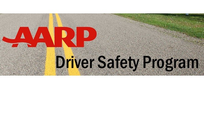 AARP Driver Safety Course is back! Tue., Oct. 27th and Wed., Oct. 28th from 9:30 A.M. to 12:30 P.M. each day.