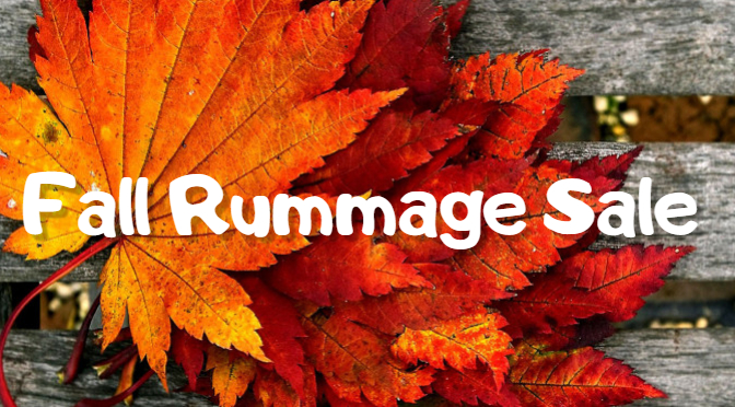 Sisterhood Rummage Sale, Sun, Nov 3rd, 9 am – 4 pm