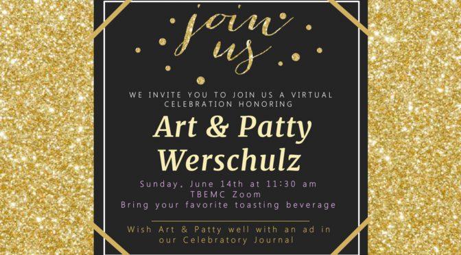 Farewell Tribute for Art & Patty Werschulz, June 14, 11:30 AM