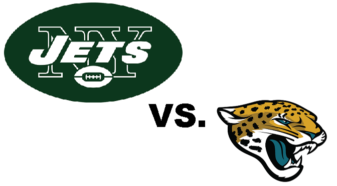 Men's Club: Jets vs. Jaguars Football. Kickoff Sun., Nov. 8th at 1:00 P.M.